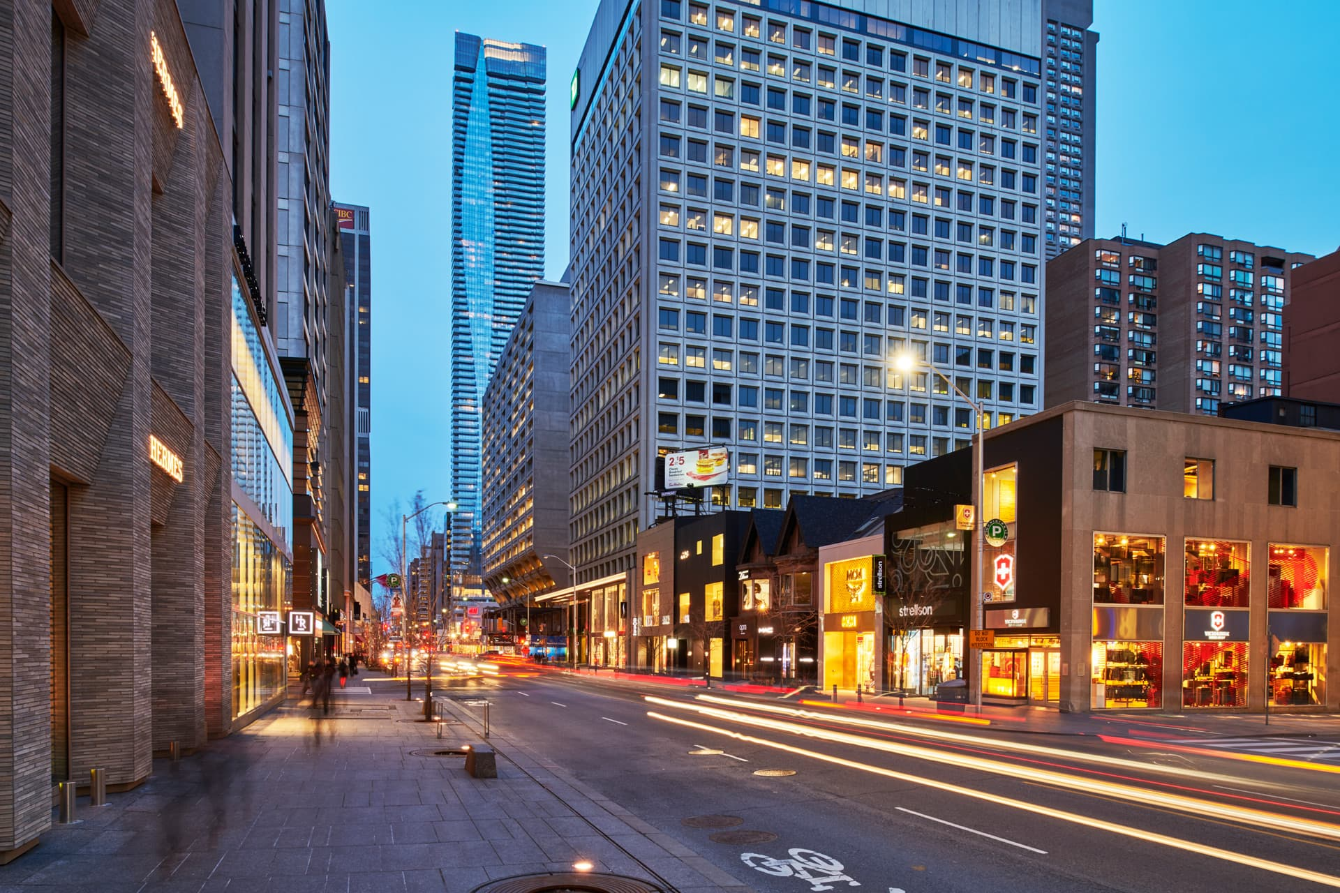One Bloor Penthouses sits in one of the Yorkville's most desirable location